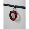 Rubbermaid FastTrack Garage 6.875-in Silver Steel Utility Hook