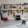 Rubbermaid FastTrack Garage 11.5-in L x 42-in H x 11.6-in D Silver Ball Rack