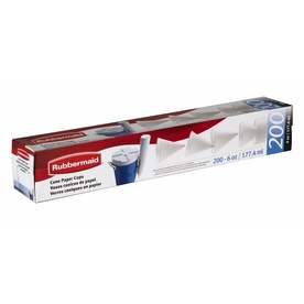 Rubbermaid 200-Pack White Paper Cups