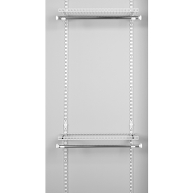 Rubbermaid HomeFree Series White Wire Add-On Hanging Kit