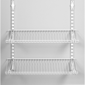 Rubbermaid Homefree Series 4-ft Adjustable Mount Wire Shelving Kits