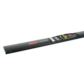 Rubbermaid FastTrack Garage 48-in L x 2-in H Gray Steel Pre-Drilled Storage Rails