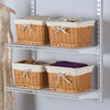 Rubbermaid Homefree Series Wicker Basket Set