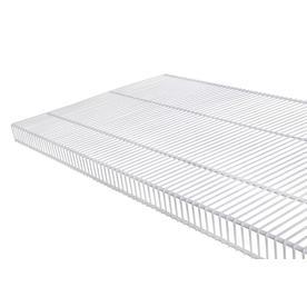 Rubbermaid TightMesh 4-ft L x 20-in D White Wire Shelf