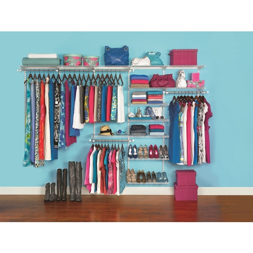 Zoomed: Rubbermaid Custom Closet Kit