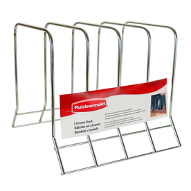 Rubbermaid Chrome Plate Rack