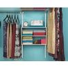 Rubbermaid HomeFree Series White Wood 3-Shelf Unit