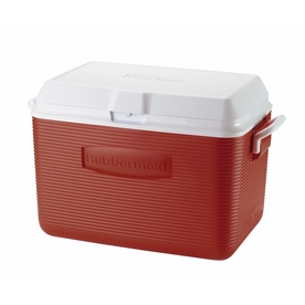 Shop Rubbermaid 48-Quart Chest Cooler with Hinged Lid at Lowes.com