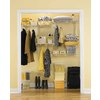 Rubbermaid Fasttrack 7-ft Adjustable Mount Wire Shelving Kits