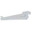 Rubbermaid FastTrack White Shoe Bracket (Common: 0.6-in x 2.1-in x 7.125-in; Actual: 0.6-in x 2.1-in x 7.125-in)