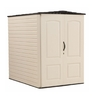 Rubbermaid Gable Storage Shed (Common: 5-ft x 6-ft; Actual Interior Dimensions: 4.33-ft x 6-ft)