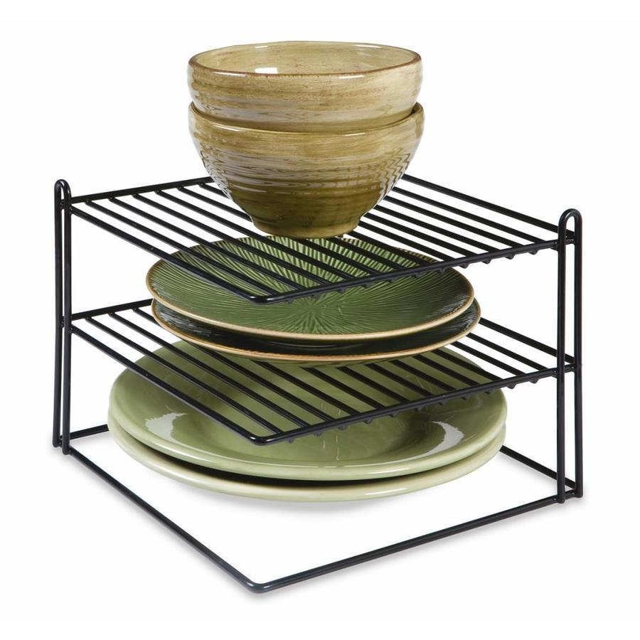 071691433330 jpg wire shelf rack lowes shop rubbermaid coated wire plate rack at lowes com
