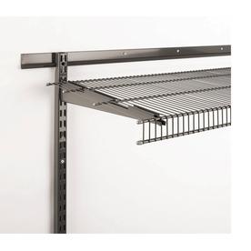 Rubbermaid Tough Stuff Garage 0.5-in W x 16-in L Gray Steel Bracket