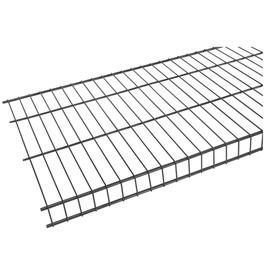 Rubbermaid Tough Stuff 6-ft L x 16-in D Satin Nickel Wire Shelf