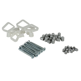 Rubbermaid Tough Stuff Garage 45-Piece Fixed Mount Hardware Kit