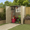 Rubbermaid Roughneck Gable Storage Shed (Common: 5-ft x 4-ft; Actual Interior Dimensions: 4.33-ft x 4-ft)
