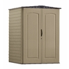 Rubbermaid Roughneck 5-ft x 4-ft Gable Storage Shed (Actuals 4.6-ft x 4.33 Feet)