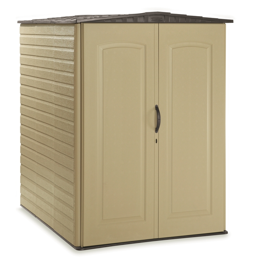 Shop Rubbermaid Roughneck Gable Storage Shed (Common: 5-ft ...