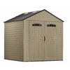 Rubbermaid Roughneck 7-ft x 7-ft Gable Storage Shed (Actuals 7.25-ft x 7.2 Feet)