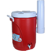 Rubbermaid 5-Gallon Red Poly Beverage Dispenser