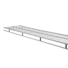 Rubbermaid 6-ft Nickel Wire Shelf