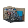 Rubbermaid Roughneck Slide Lid Gable Storage Shed (Common: 5-ft x 6-ft; Interior Dimensions: 4.33-ft x 6-ft)