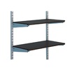 Rubbermaid 24-in x 12-in Espresso Shelf Board