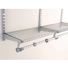 Rubbermaid Homefree 4-ft Adjustable Mount Wire Shelving Kits
