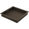 Rubbermaid Bento 12.6-in x 12.6-in Espresso Fabric Storage Basket Lid