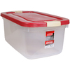 Rubbermaid Roughneck 50-Quart Clear Tote with Latching Lid