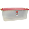 Rubbermaid Roughneck 95-Quart Clear Tote with Latching Lid