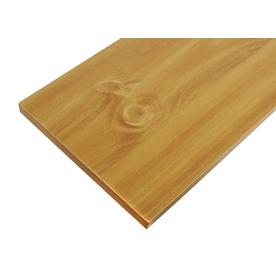 Blue Hawk Laminate 23-3/4-in x 9-7/8-in Natural Shelf Board