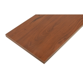 Blue Hawk Laminate 35-7/8-in x 9-7/8-in Cherry Shelf Board