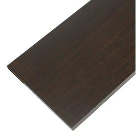 Rubbermaid Laminate 9.8-in W x 35.8-in L x 0.625-in D Espresso Shelf Board