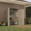 Rubbermaid Roughneck Gable Storage Shed (Common: 5-ft x 2-ft; Actual Interior Dimensions: 4.33-ft x 2-ft)