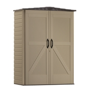 Rubbermaid 2x5-Foot Gable Storage Shed