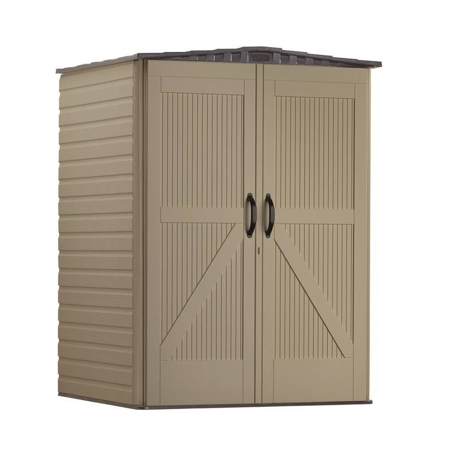 Shop Rubbermaid Roughneck Gable Storage Shed (Common: 5-ft x 4-ft