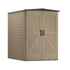 Rubbermaid Roughneck Gable Storage Shed (Common: 5-ftx 6-ft; Interior Dimensions: 4.33-ftx 6 Feet)