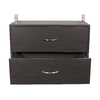 Rubbermaid HomeFree Espresso Wood 2-Drawer Unit