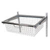 Rubbermaid HomeFree Satin Nickel Wire Sliding Basket