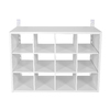 Rubbermaid HomeFree White Wood Shoe Cubbie