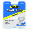 Homax White Tub and Wall Caulk Strip