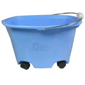 Quickie Plastic Bucket on Wheels