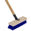 Quickie - Professional 12-in Poly Fiber Stiff Deck Brush