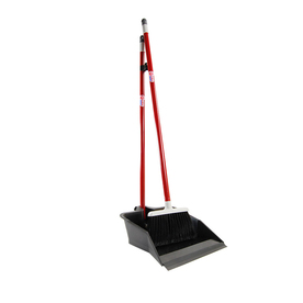 Quickie - Clean Results Flip Lock Dust Pan and Lobby Broom