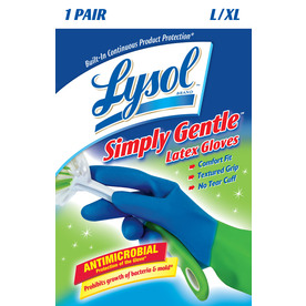 LYSOL Extra-Large Latex Cleaning Gloves