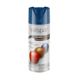 Valspar 12 Oz. Pewter Grey Gloss Spray Paint