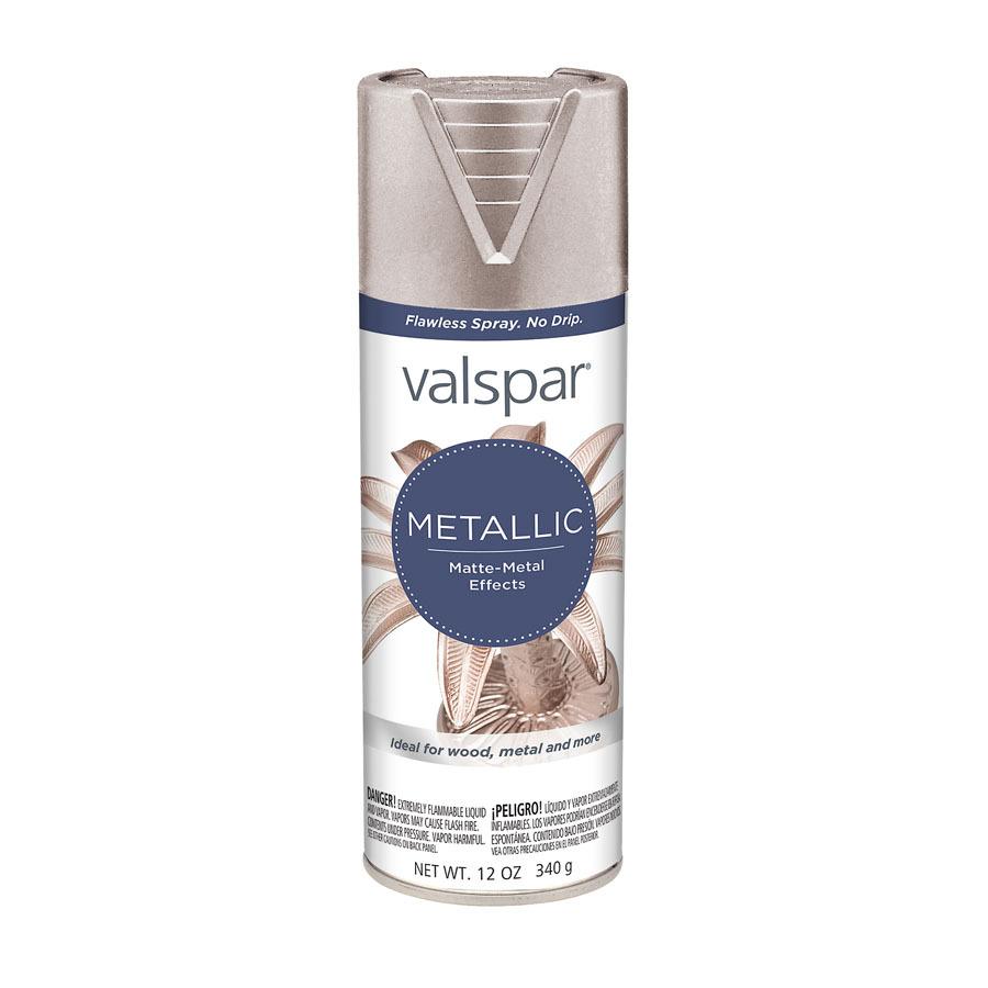 Shop Valspar 12 Oz Brushed Nickel Spray Paint At Lowes Com