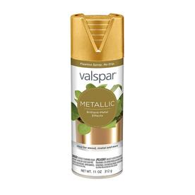 Valspar Gold Metallic Spray Paint (Actual Net Contents: 11-oz)