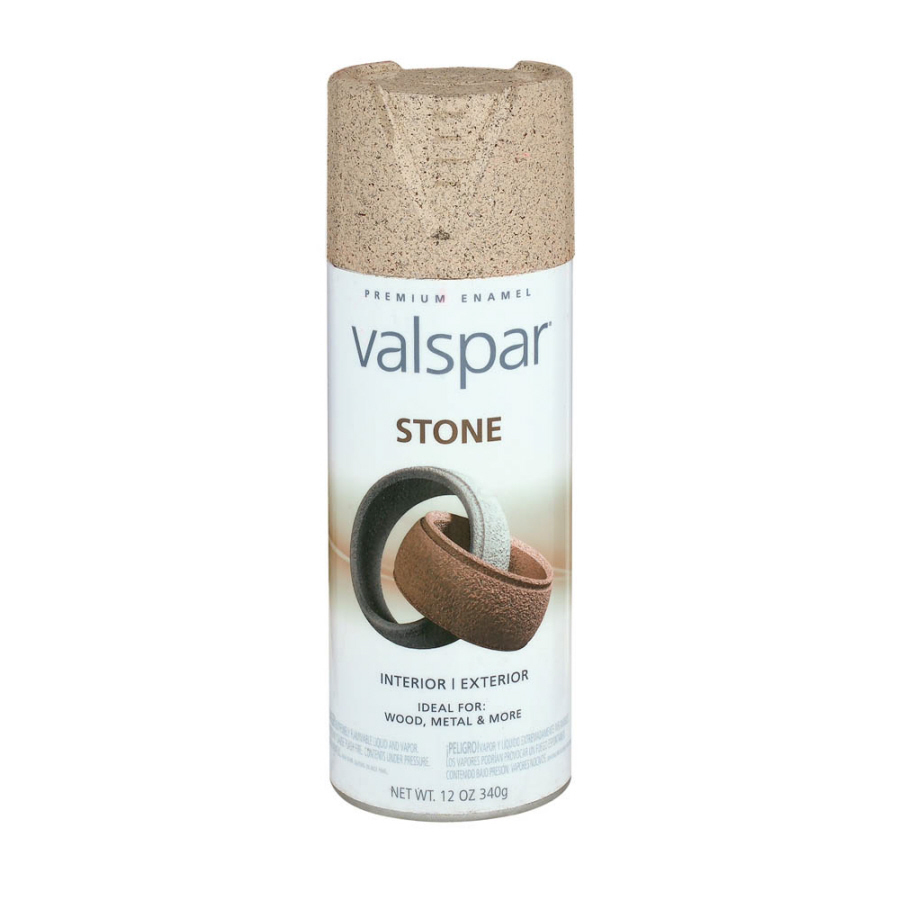 Shop Valspar 12 Oz Santa Fe Sand Stone Spray Paint At Lowes Com
